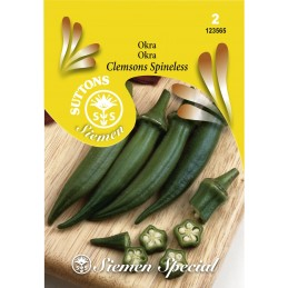 OKRA 'Clemson's Spineless'