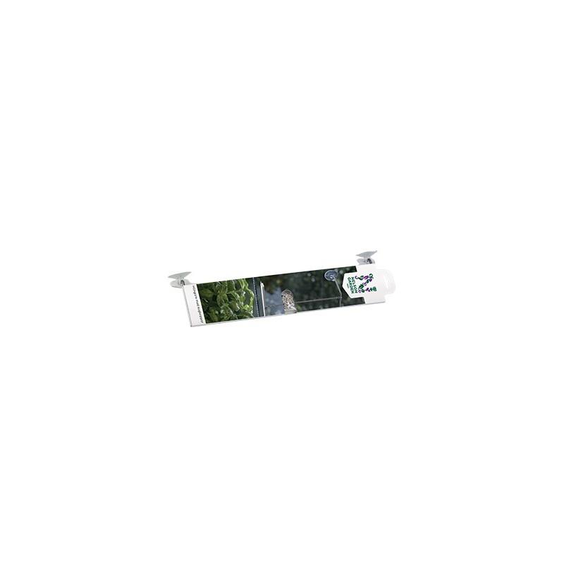 Kasvivalaisimen LED-lista ripustin, imukupit
