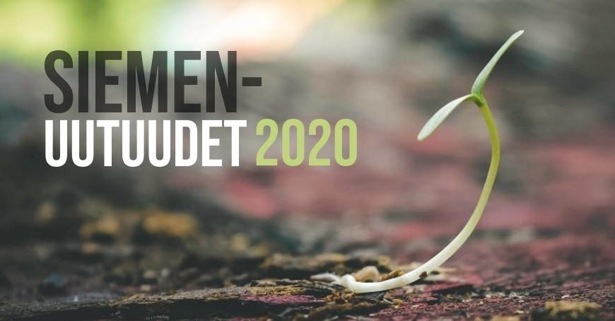 Uudet siemenet 2020 nyt varastossa!